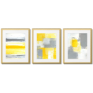 YELLOW ABSTRACTION POSTERS