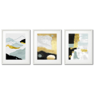GOLDEN POSTERS WITH A CELADON TOUCH