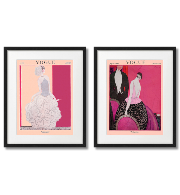 GEORGES LEPAPE - VOGUE COVERS