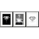MARILYN MONROE WITH DIAMONDS