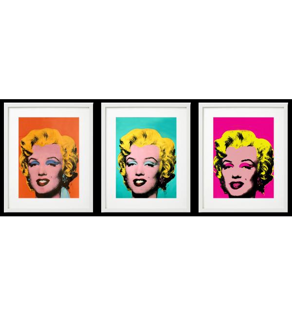 MARILYN MONROE, POP ART A. WARHOL