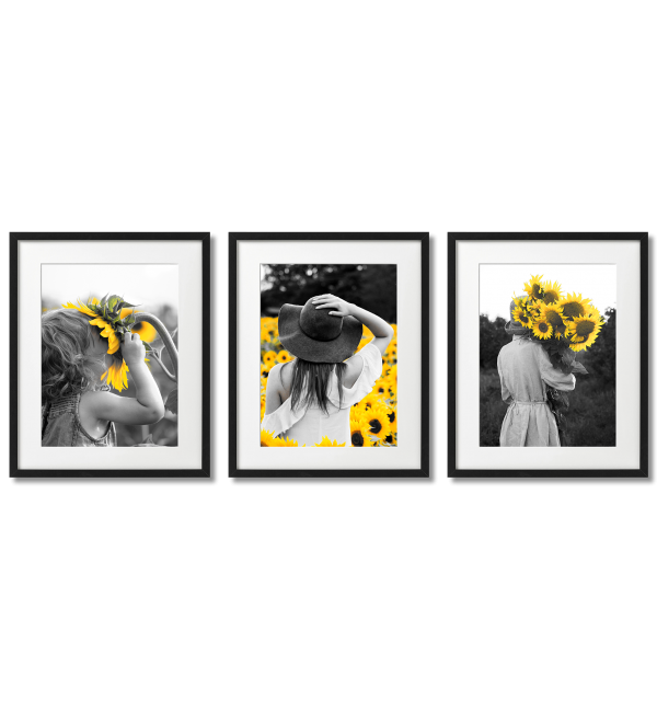 WOMEN WITH SUNFLOWERS
