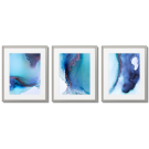 SHADES OF BLUE, GRADIENT POSTERS