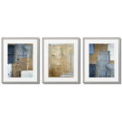 GRAY AND GOLDEN ABSTRACTIONS