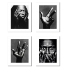 PABLO PICASSO - BLUE SEASON, A Set of 4 Posters