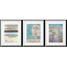 PAUL KLEE KOLOROWE abstrakcje 3 PLAKATY W RAMACH