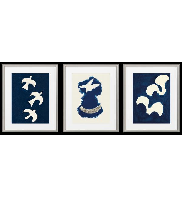ŁUCZNICTWO - 3 WSPANIAŁE PLAKATY Georges Braque