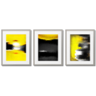 YELLOW AND BLACK TONAL ABSTRACTIONS