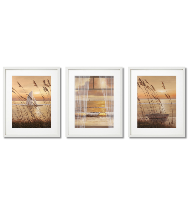 BEAUTIFUL ROMANTIC POSTERS BROWN LANDSCAPES