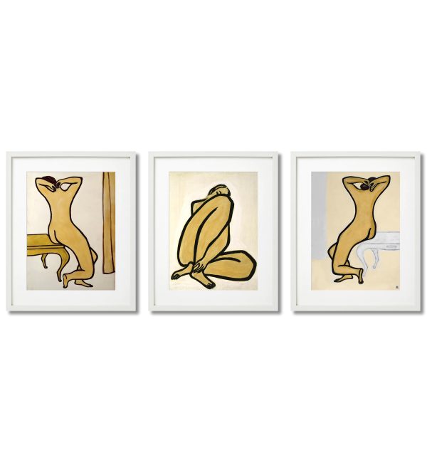 SANYU, ACTS - SET OF 3 POSTERS