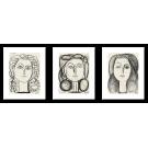 PICASSO-FRANCOISE GUILLOTE - PORTRAITS SET 2