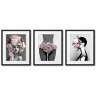 ARTISTIC PHOTOS - POSTERS WITH POWDERY PINK