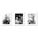 ROMAN HOLIDAY, SET OF 3 POSTERS, FILM POSTERS