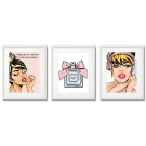 PERFUMES, GLAMOUR COMIC BOOK POSTERS
