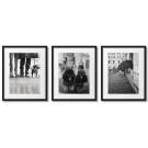 CITY PETS, BLACK AND WHITE PICTURES WITH DOGS