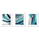 ABSTRACTIONS GEODE TURQUOISE MINERAL