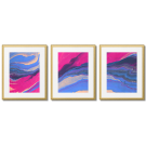 ABSTRACTIONS IN THE COLOR FUCHSIA