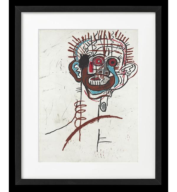 Jean-Michel Basquiat RYSUNEK, BEZ TYTUŁU,  PLAKAT