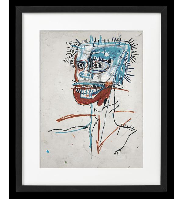 Jean-Michel Basquiat RYSUNEK, GŁOWA SZALONEGO MĘŻCZYZNY