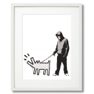 BANKSY - WALKING A DOG