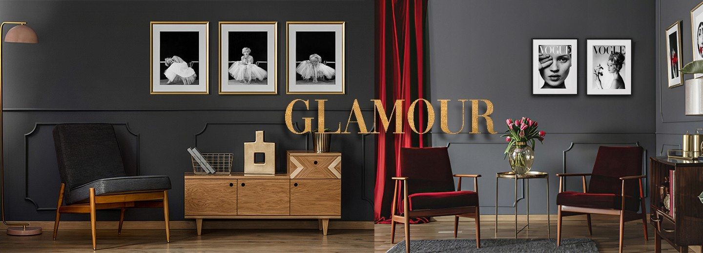 #POSTERS GLAMOUR